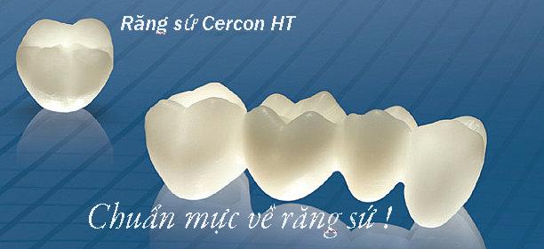 Cercon HT đã được sản xuất và cải tiến từ năm 2003