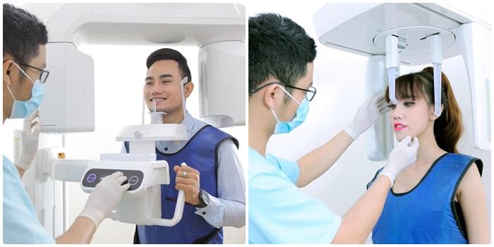 Chụp răng sẽ áp dụng phương pháp Panorama